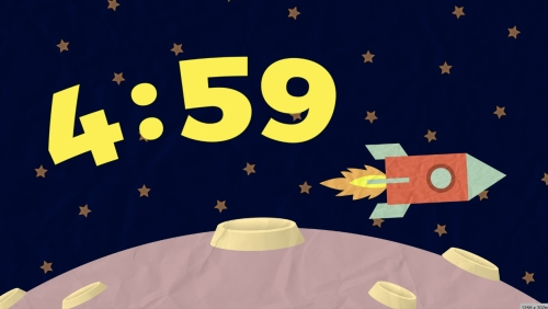 view the Countdown Video Space Vbs