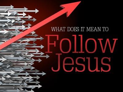 PowerPoint Template on Follow Jesus