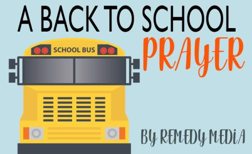 Video Illustration on A Back To School Prayer