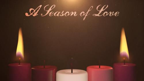 view the Motion Background Advent Candles Love