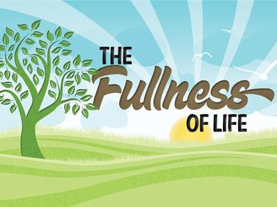 PowerPoint Template on Fullness Of  Life