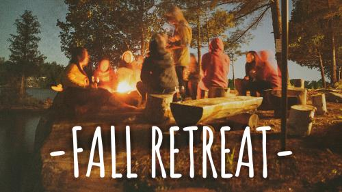 PowerPoint Template on Fall Retreat & Campout
