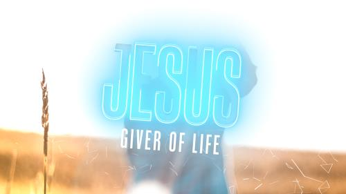 Video Illustration on Jesus Giver Of Life