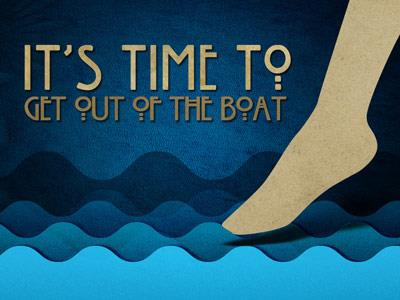 PowerPoint Template on Get  Out Of The  Boat