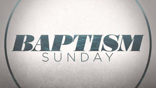 view the Motion Background Baptism Waves Sunday
