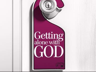 PowerPoint Template on Getting  Alone  With  God