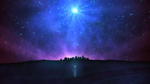 view the Motion Background Bethlehem Star 01
