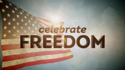 view the Motion Background Celebrate Freedom Title