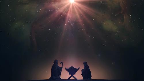 view the Motion Background Christ The Savior Nativity