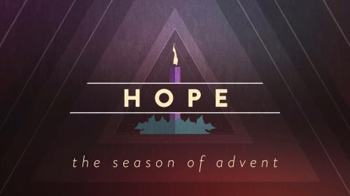 view the Motion Background Christmas Advent Candles Hope