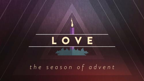view the Motion Background Christmas Advent Candles Love