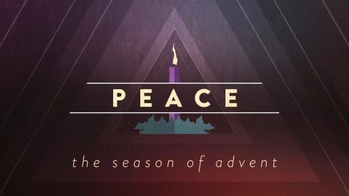 view the Motion Background Christmas Advent Candles Peace