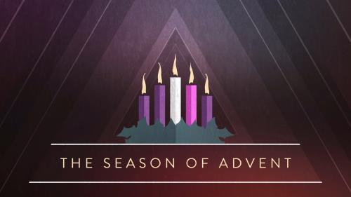 view the Motion Background Christmas Advent Candles Title 02