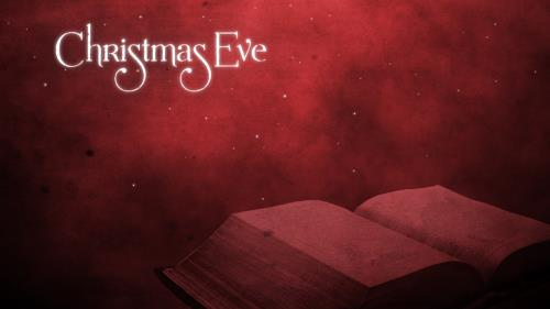 view the Motion Background Christmas Eve Scripture