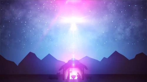 view the Motion Background Christmas Manger