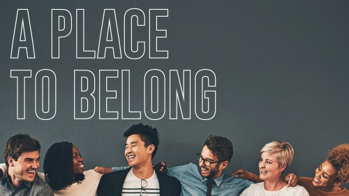 view the PowerPoint Template Place To Belong Group