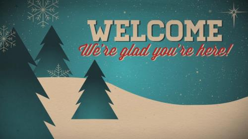 view the Motion Background Christmas Welcome Vintage