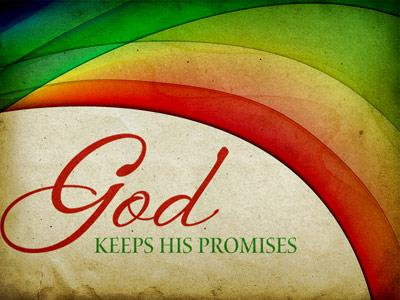 PowerPoint Template on God  Keeps  His  Promises