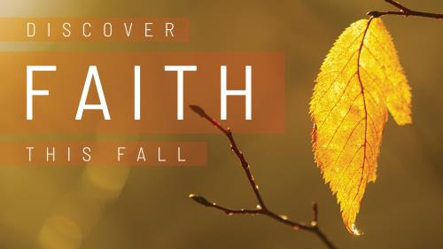 view the PowerPoint Template Fall Discover Faith