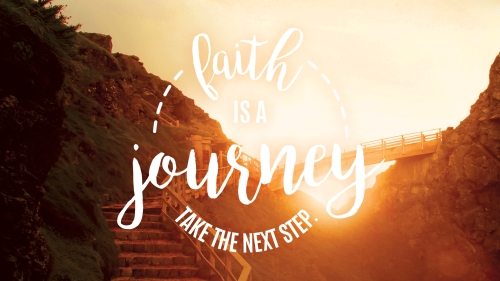 PowerPoint Template on Faith Journey