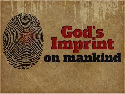 PowerPoint Template on Gods  Imprint On  Mankind