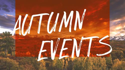 view the PowerPoint Template Autumn Event Pack