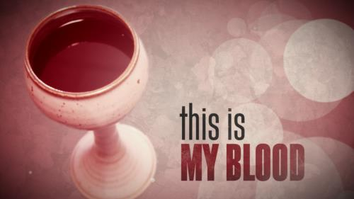 view the Motion Background Communion Cup Title