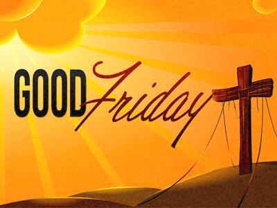 PowerPoint Template on Good  Friday 2