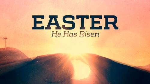view the Motion Background Easter Risen Title