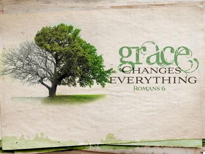 PowerPoint Template on Grace Changes Everything