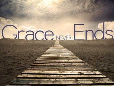 PowerPoint Template on Grace  Never  Ends