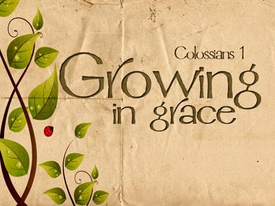PowerPoint Template on Growing In Grace