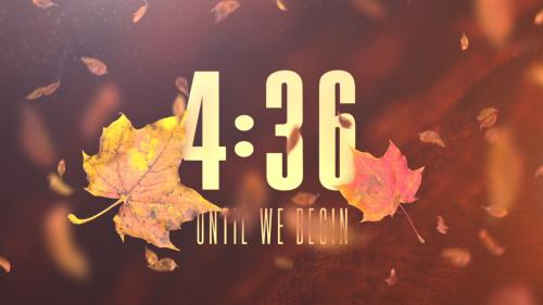 view the Countdown Video Thankful Fall