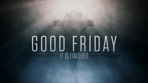 Motion Background on Good Friday Mist Title