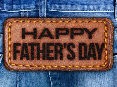 PowerPoint Template on Father's Day Jeans
