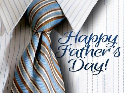 PowerPoint Template on Father's Day Tie