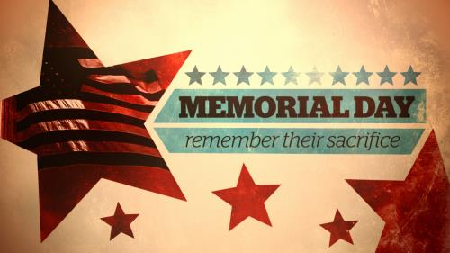 view the Motion Background Memorial Day Title