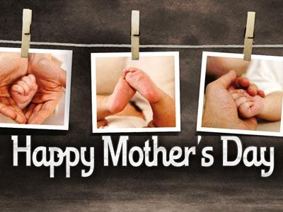 PowerPoint Template on Mothers Day Photos