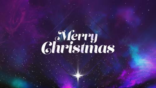 view the Motion Background Christmas Galaxy Merry Christmas