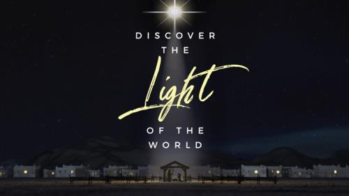 PowerPoint Template on Discover Light Of World