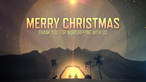 view the Motion Background Merry Christmas Closing
