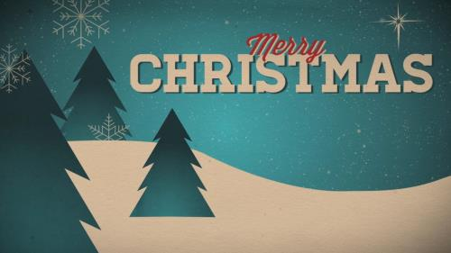 view the Motion Background Merry Christmas Vintage