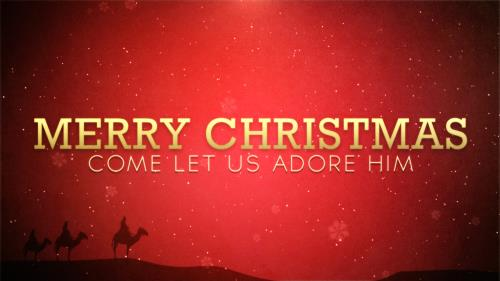 view the Motion Background Merry Christmas Welcome