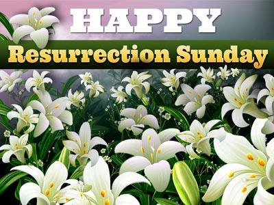 view the PowerPoint Template Happy  Resurrection  Sunday