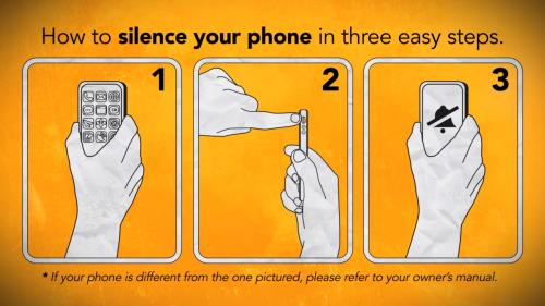 Motion Background on How To Silence Your Phone