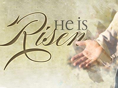 PowerPoint Template on He Is  Risen 1