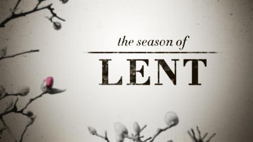 view the Motion Background Lent Season Title