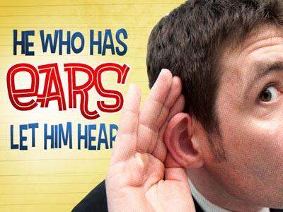 PowerPoint Template on He  Who  Has  Ears