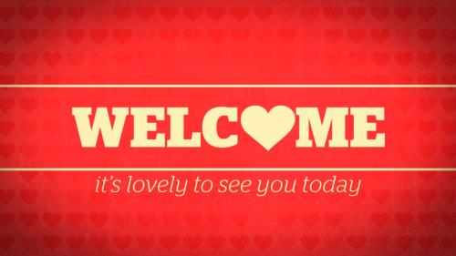 Motion Background on Lovely Welcome