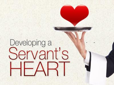PowerPoint Template on Heart Of A  Servant